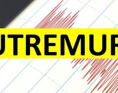 Cutremur cu magnitudinea 3,8 pe Richter, în judeţul Vrancea