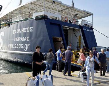 MAE anunţă că 100 de români au fost deja transferaţi de pe insula Samothraki