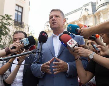 Klaus Iohannis: Pentru descurajarea actelor ostile în regiunea Mării Negre avem nevoie...