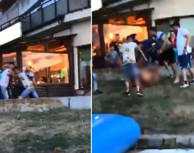 Violență ieșită din comun. Bărbat bătut crunt de cinci tineri pe faleza din Tulcea....