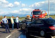 Patru persoane, rănite într-un accident în judeţul Caraş-Severin