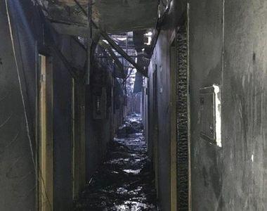 Opt morţi şi zece răniţi în staţiunea ucraineană Odesa, într-un incendiu la un hotel