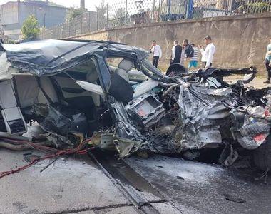 Un mire din Reșița, accident teribil în timp ce se îndrepta spre petrecerea de nuntă