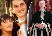 Preotul care se ocupă de mormântul Elodiei e om bun la toate! Părintele Andrei Postu are 37 de ani și lucrează cu muncitorii