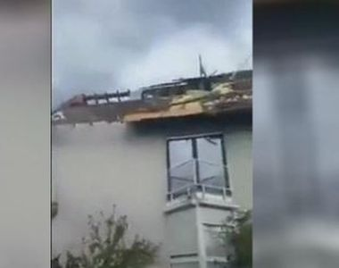 VIDEO | Imagini înspăimântătoare din Germania. 20 de răniți, în urma furtunilor...