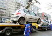 Primăria anunţă că maşinile parcate neregulamentar pe principalele artere ale Capitalei vor fi ridicate