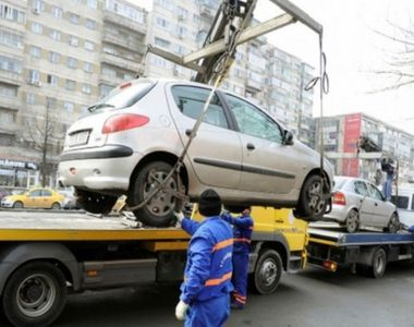 Primăria anunţă că maşinile parcate neregulamentar pe principalele artere ale Capitalei...