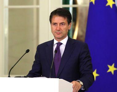 Premierul italian Giuseppe Conte demisionează
