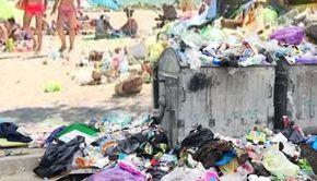 VIDEO | Stațiunea tineretului a devenit groapa de gunoi a litoralului