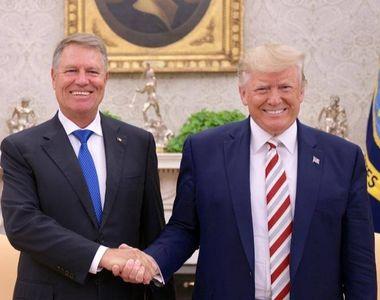 VIDEO | Scăpăm de vizele pentru SUA? Klaus Iohannis, anunț important după întâlnirea cu...
