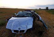 Tragic accident la Iași. Un tânăr a murit după ce a zburat cu mașina de pe șosea. Alături de el se afla și o fată în vârstă de 15 ani