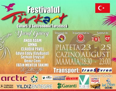 Festivalul de cultură şi gastronomie turcească are loc în week-end la Mamaia! Pe lângă...