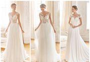 Femeile stilate aleg rochii de mireasă simple, dar de efect