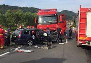Accident teribil la Cluj! A murit strivit de TIR, după ce a intrat pe contrasens
