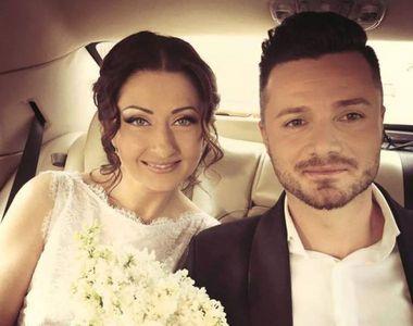 Gabriela Cristea și Tavi Clonda s-au căsătorit religios. Imagini fabuloase de la nuntă