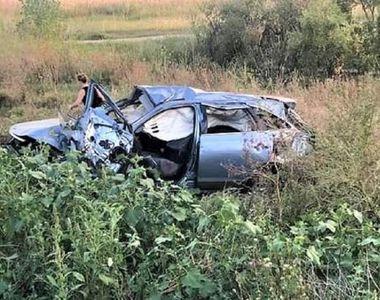 Un afacerist și alte două persoane au murit într-un accident grav, în Teleorman