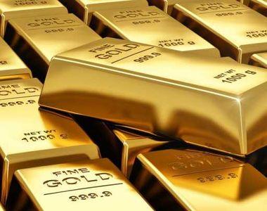 Preţul aurului a urcat la un nou nivel record