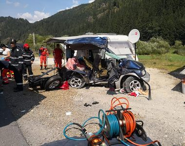 Accident rutier grav în Mureș! Trei persoane au murit pe loc