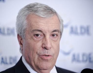 Tăriceanu anunţă că ALDE va vota moţiunea de cenzură împotriva Guvernului condus de...