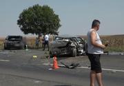 Accident groaznic în Buzău: un bărbat a murit și doi au fost răniți