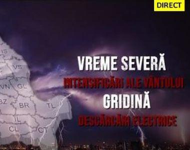VIDEO | Furtună electrică peste România. Nu scăpăm nici de caniculă