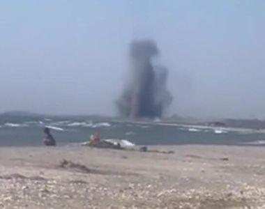 Momente de panică pentru turiștii de pe litoralul românesc. La doar câțiva kilometri de...