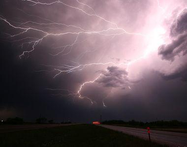 Meteorologii au emis cod galben pe teritoriul țării noastre