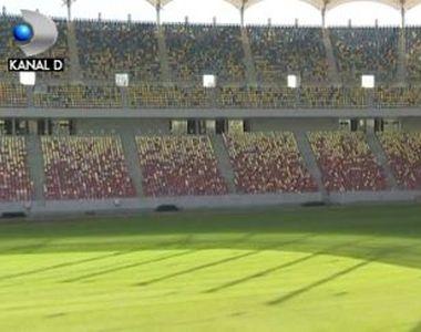 """VIDEO   Cât a costat noul gazon de pe Arena Națională. Gabriela Firea: """"E într-o stare..."""