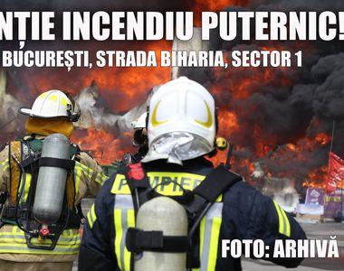 Mesajul IGSU după incendiul din Capitală. Ce trebuie să știe cei aflați în zona afectată