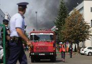 Prefectul Capitalei, despre incendiul de la un depozit din nordul Bucureştiului: Focul este localizat, dar în schimb nu va fi stins decât probabil mâine