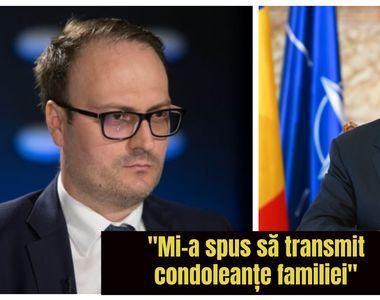 """Alexandru Cumpănașu a vorbit la telefon cu Klaus Iohannis:""""M-a pus să transmit..."""