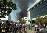 VIDEO | Incendiul din Capitală nu s-a stins