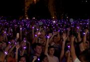 VIDEO | Un nou record mondial Guinness World Records pentru cele mai multe lumini LED aprinse simultan la Timișoara