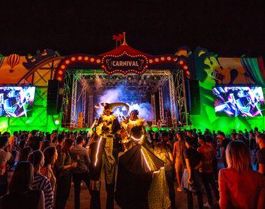 The Carnival , cel mai mare eveniment de street food & street art din Europa,...