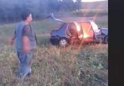 Gestul neașteptat al unui cioban din Cluj. Și-a incendiat mașina pentru a primi ajutor social de la primărie