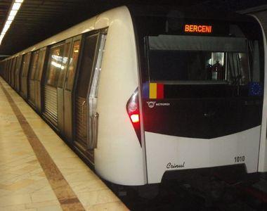 Program prelungit la metrou după meciul România-Spania