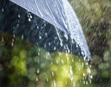 Alertă de ploi torențiale și vijelii în toată România, in următoarele ore