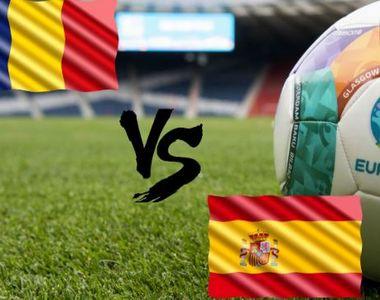 """Numerele """"tricolorilor"""" la meciul cu Spania:Grozav a preluat numărul 7 de la..."""
