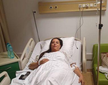 Oana Roman, de urgență la spital