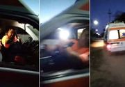 VIDEO | Anchetă la Serviciul de Ambulanţă Galaţi după ce şoferul unui ambulanţe ar fi scuipat un bărbat, care ar fi fost beat şi care reproşa echipajului că a venit târziu să preia o bolnavă