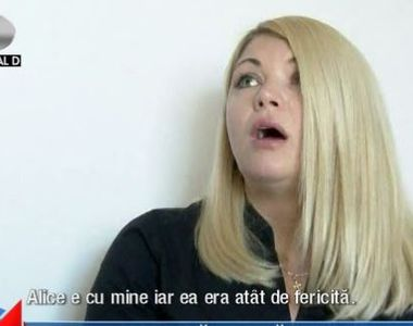 VIDEO   Rusoaica acuzată că și-a răpit propria fată din brațele soțului român a ieșit...