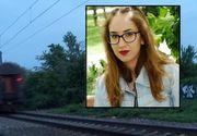 Andreea a murit pe loc, spulberată de tren în Voluntari! În urmă cu 5 luni, prietenul ei a murit în același loc