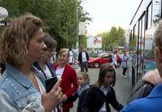 VIDEO | Autobuze doar pentru elevi. Cum au reacționat părinții