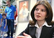 Cum arată Monica Iacob Ridzi la doi ani de la eliberarea din închisoare? Fostul ministru și-a dus copiii la școală FOTO