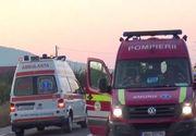 Accident cu deţinute, în Dolj. O dubă a Penitenciarului Craiova s-a izbit de o maşină la ieşirea spre Balş