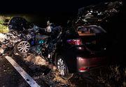 Accident cumplit în Ungaria: Mașina făcută praf de un camion. Trei oameni au murit