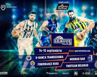 Cel mai mare turneu de baschet din România! Echipe grele ale baschetului european vin...