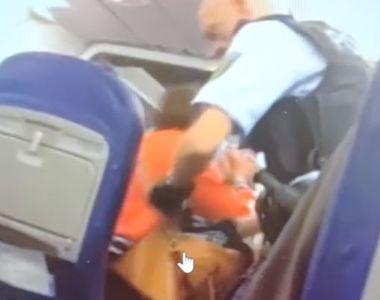 VIDEO | Reacția Wizz Air la scandalul provocat de un român în avion