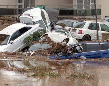VIDEO | Imaginile dezastrului, după două zile de ploi torențiale în Spania