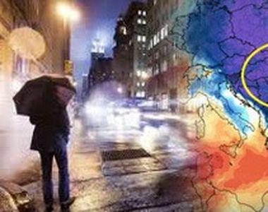 VIDEO | Val de aer polar peste România